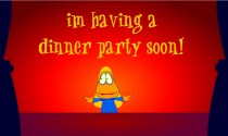 Dinner Party Invitation eCard