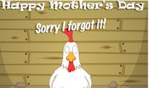 Sorry I Forgot Chicken eCard