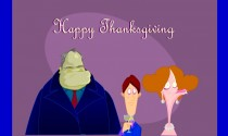 Thanksgiving with the in-laws eCard