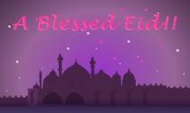 Blessed Eid eCard