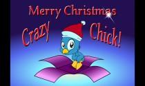 Chick Christmas eCard