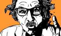 Retro Einstein eCard