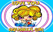 Aquarius Girl eCard