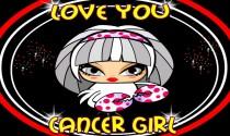 Cancer Girl Facts eCard