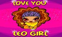 Love You Leo Girl eCard