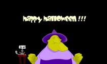 Flatulent Halloween Witch eCard