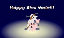 Happy Moo Year eCard