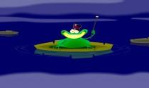 New Year Frog eCard