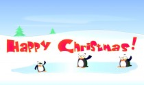 Penguin Christmas eCard
