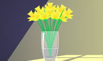 Thank You Daffodils eCard