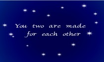 Made For Each Other eCard