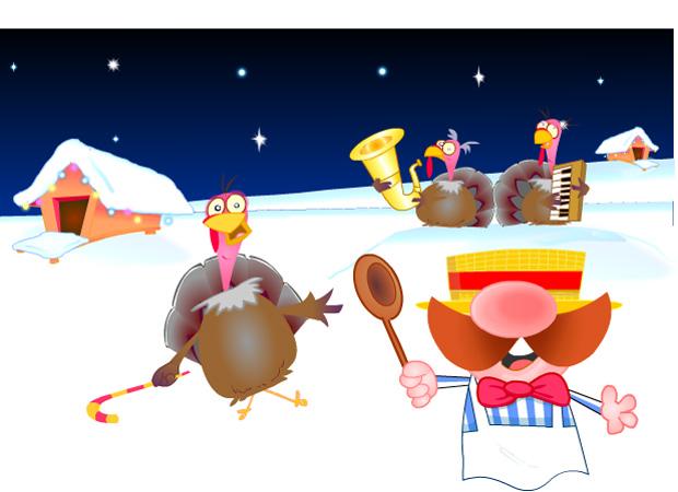 Christmas Christmas Turkey Band