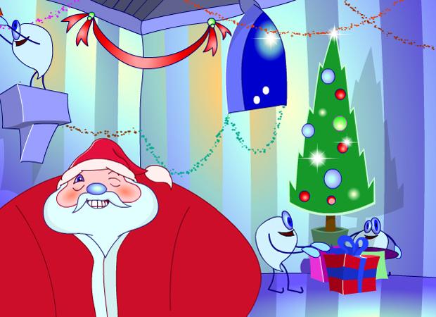 Christmas Farting Santa
