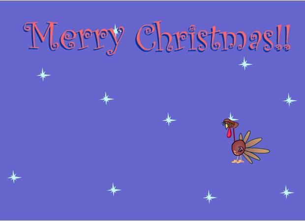 Christmas Gobbler