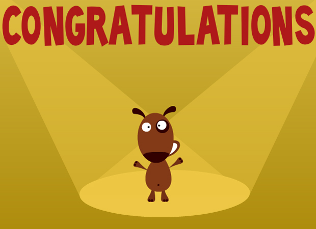 Congratulations Congratulations Dog