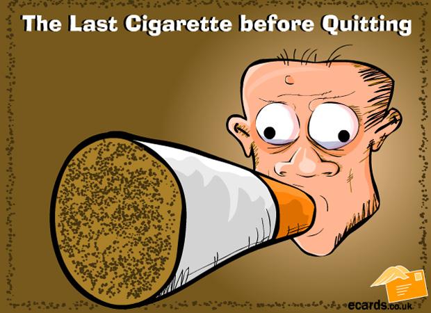 Expressions The Last Cigarette