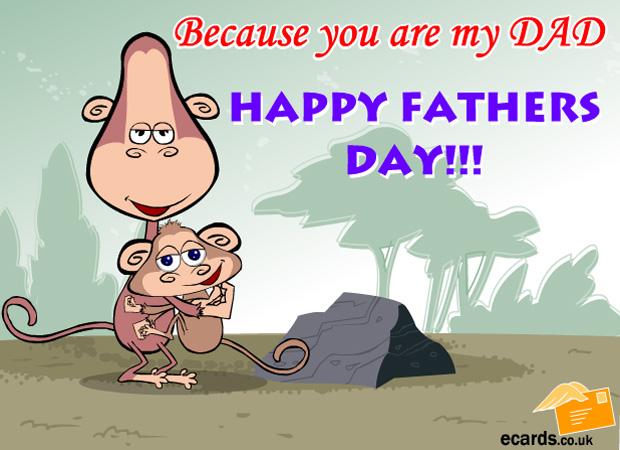 Father's Day Happy Monkeys Day