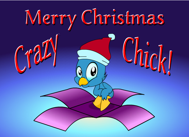Funny Chick Christmas