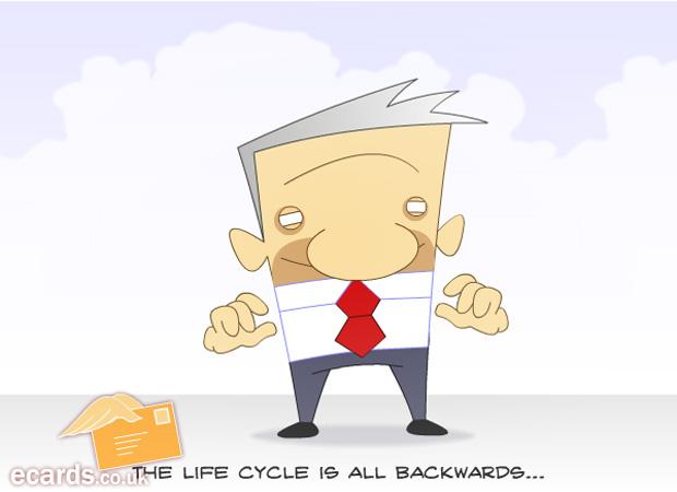 Funny Reverse Life