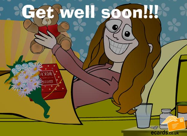 Get Well Soon Get Well Soon!