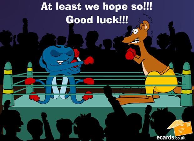 Good Luck Grim Boxing