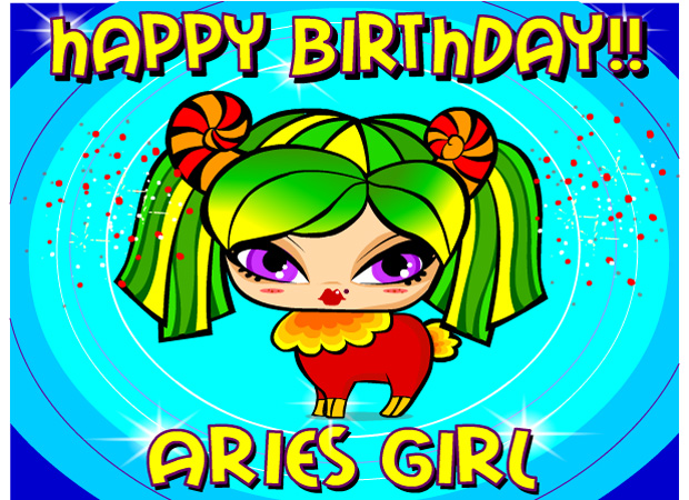 Astrological Aries Girl
