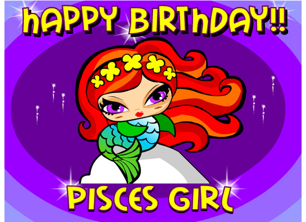 Pisces happy birthday