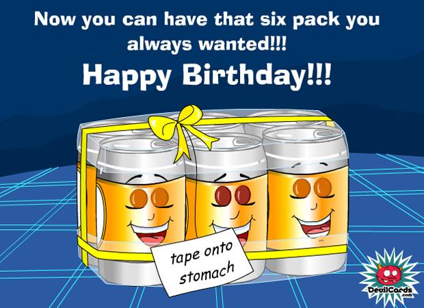His Birthday 6 Pack