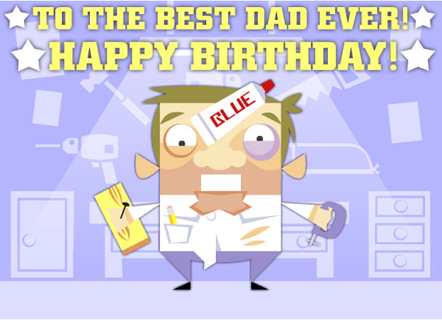 His Birthday Dad