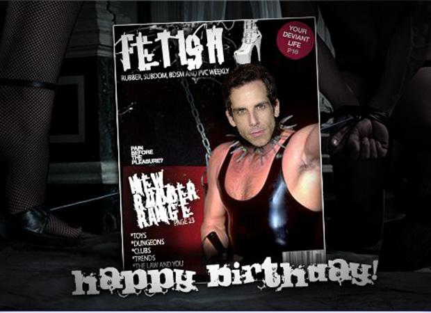 His Birthday Fetish Magazine