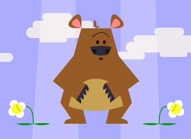 Hug & Friends Smelly Bear
