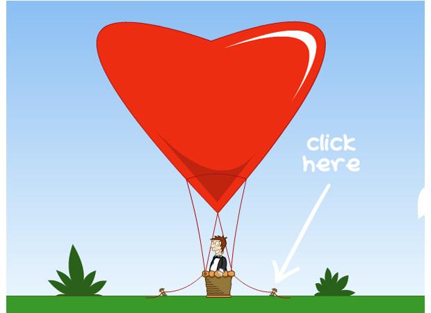 I Love You Love Balloon