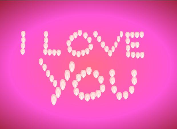 I Love You Love Petals