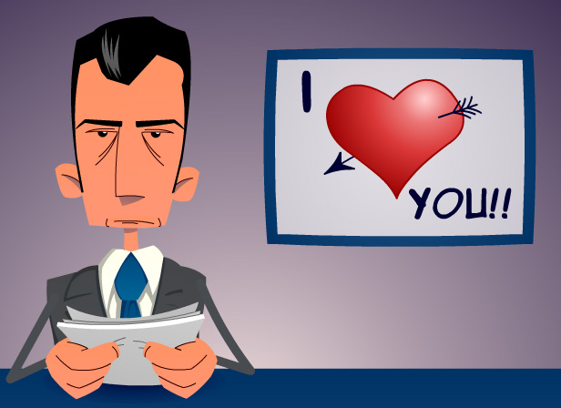 I Love You News Reader - Love