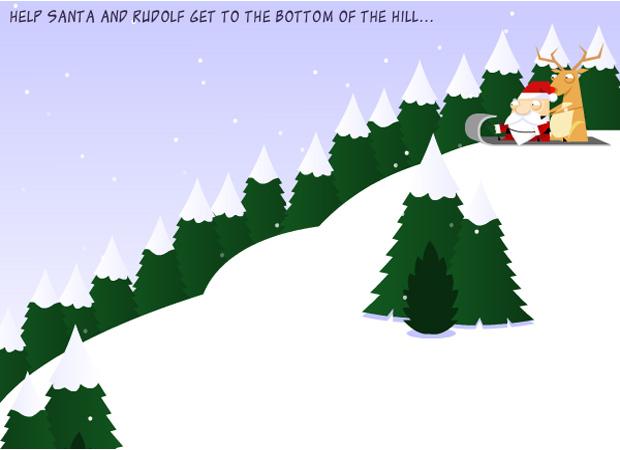 Interactive Santa Sled
