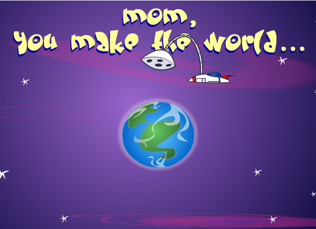Mothers Day Mum makes the world better