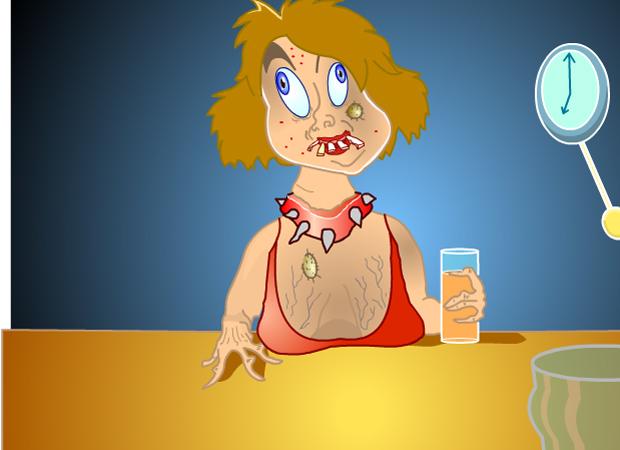 Random Drink Woman