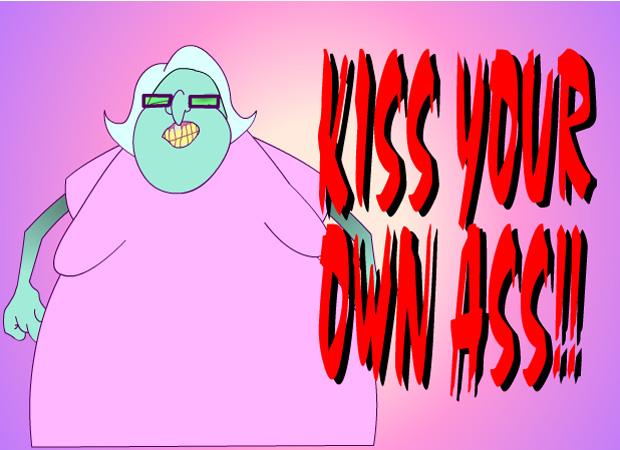 Random Kiss My Ass