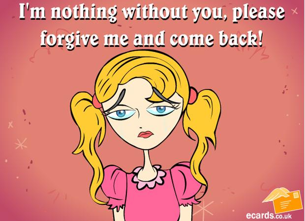 Sorry I Want You Back
