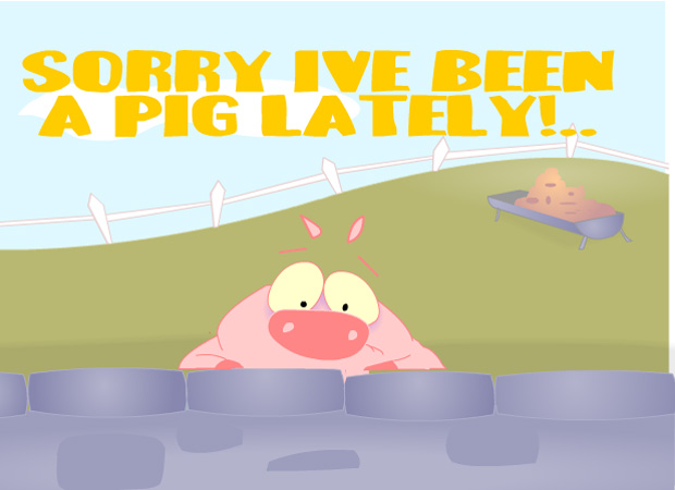 Sorry Pig Lately