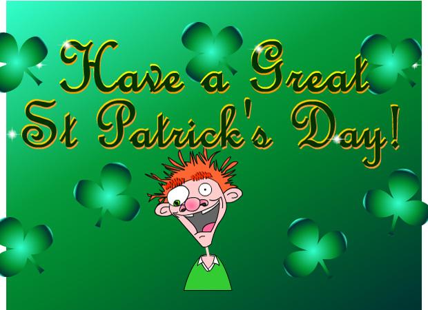 St Patricks Day We Go Mad