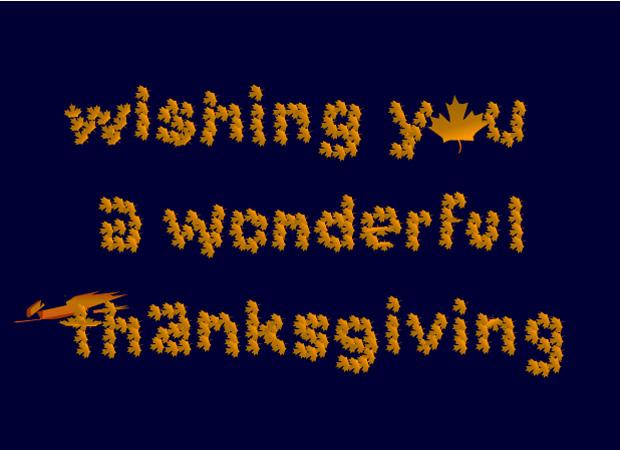 Thanksgiving Thanksgiving Leaves