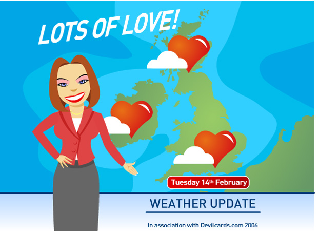 Valentines Day Love Forecast
