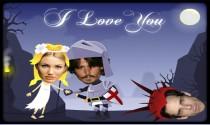 Valentines Day Romantic Knight