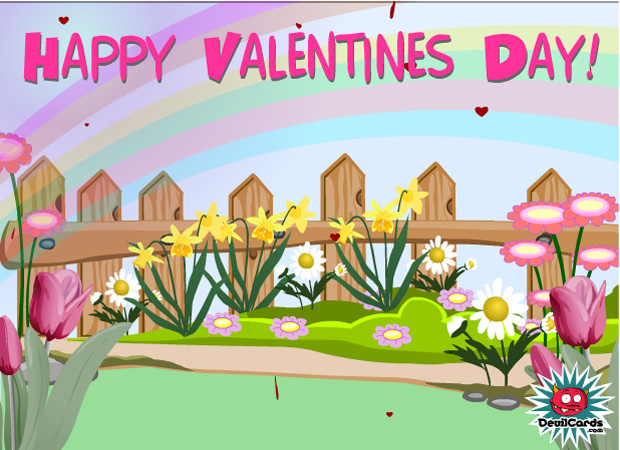 Valentines Day Valentines Day Garden